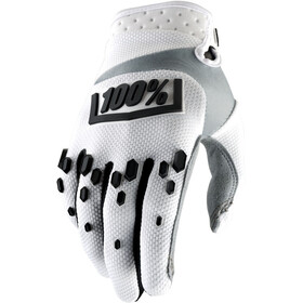 100% Airmatic Gloves white/black